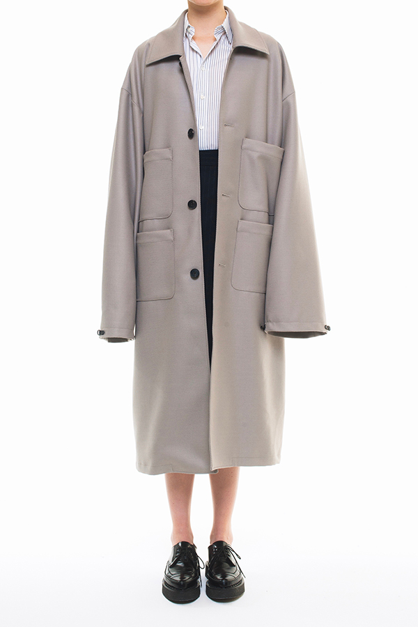 NEW ARRIVAL DRESSEDUNDRESSED FALL WINTER 2016 COLLECTION XXL SINGLE BREASTED TRENCHCOAT