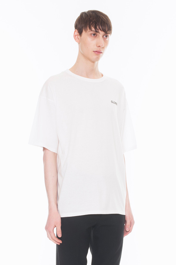 NEW ARRIVAL DRESSEDUNDRESSED FALL WINTER 2017 COLLECTION CLOSER EMBROIDERY OVERSIZED T-SHIRT