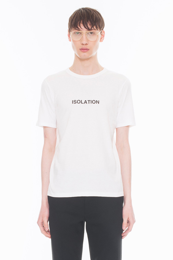 NEW ARRIVAL DRESSEDUNDRESSED FALL WINTER 2017 COLLECTION ISOLATION PRINTED T-SHIRT